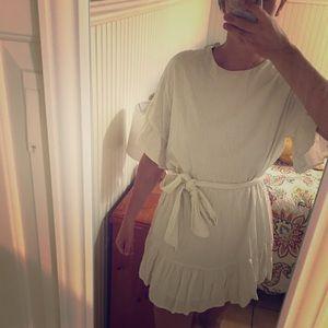 Linen dress only worn 2 times